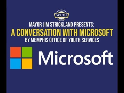 Memphis Office of Youth Services and a Conversation with Microsoft
