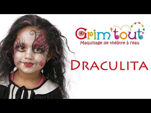 Modèle Maquillage Enfant Draculita Youtube