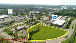 Sawmill Road Commercial Lot - Real Estate Drone Video
