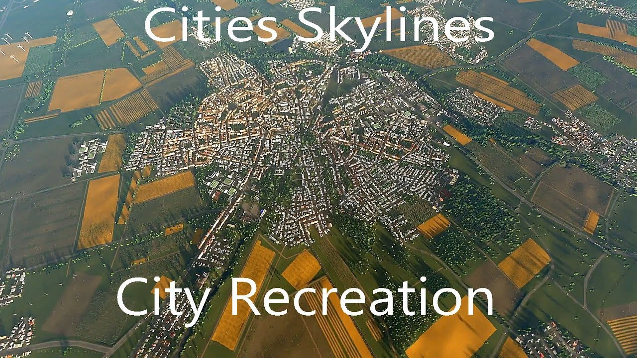 Cities Skylines | Real City: Euskirchen, Germany | Timelapse Map ...