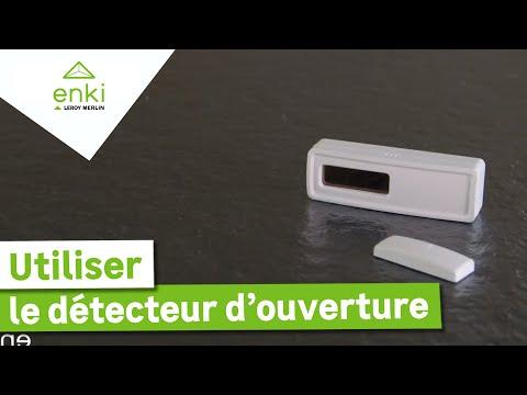 Comment installer et utiliser le détecteur d'ouverture avec Enki ? Leroy Merlin from YouTube · Duration:  2 minutes 15 seconds