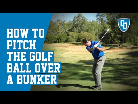 How To Pitch The Golf Ball Over a Bunker