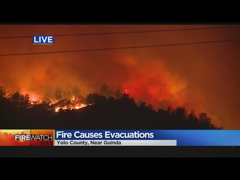 County Fire Burns 8000 Acres