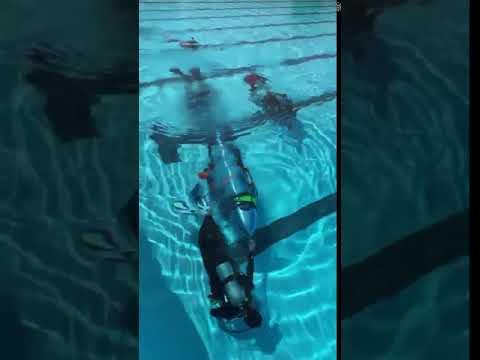"Elon Musk Testing ""Wild Boar"" mini sub underwater #1"