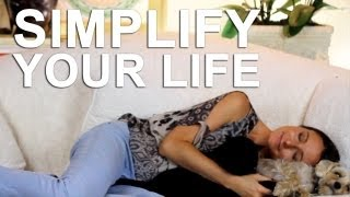 "Simplify your life with these 4 ""simplify your life"" strategies"