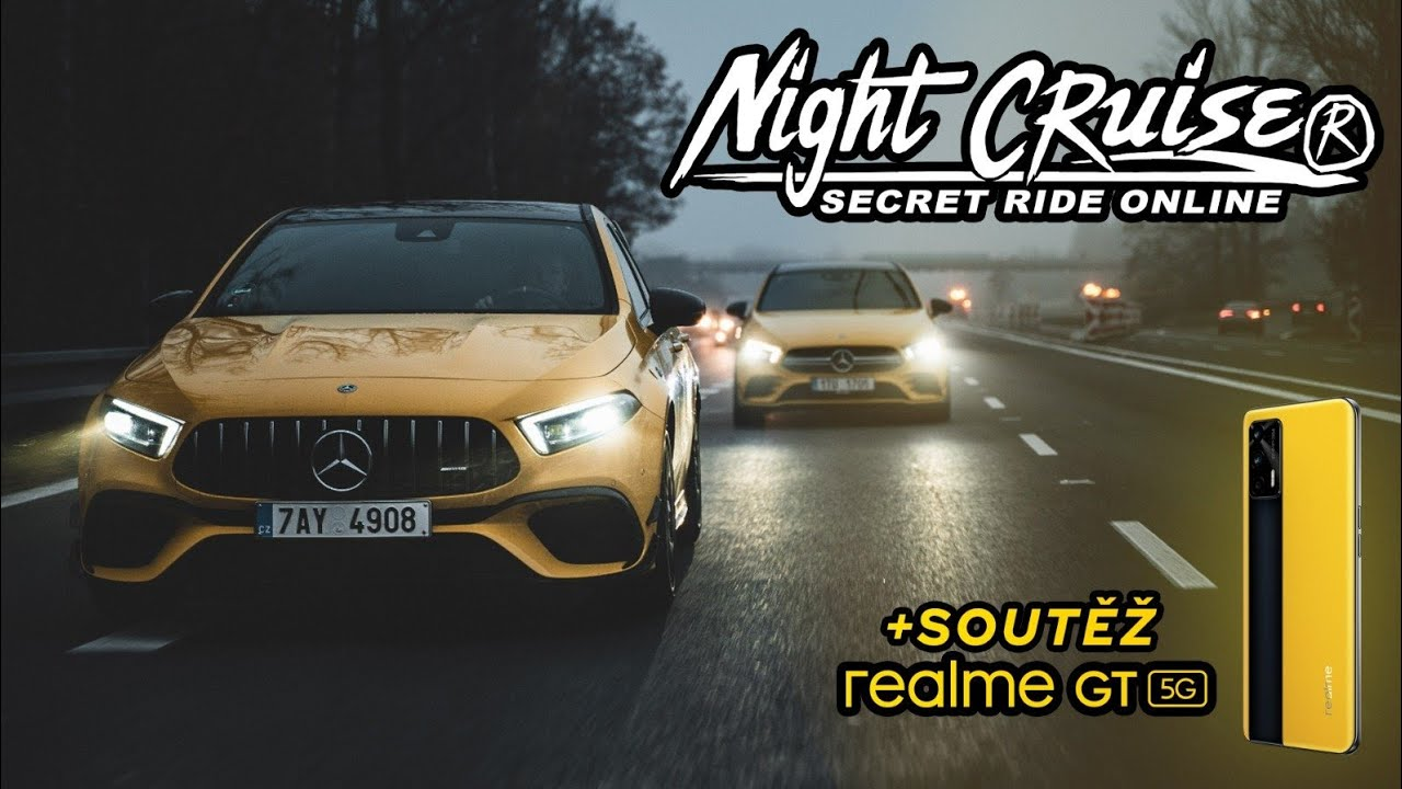 Secret Night Cruise livestream s realme GT 5G + soutěž 🏎
