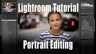 Lightroom Tutorial - Portrait Editing for Beginners
