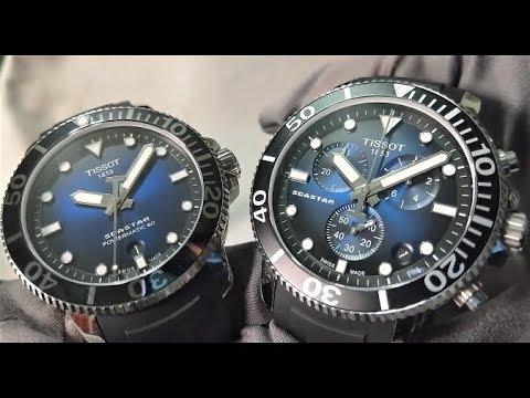 【真愛二選一】機械錶?石英錶?TISSOT 天梭表 Seastar 1000海星系列