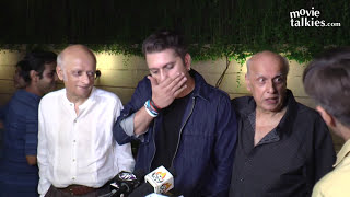 Mahesh Bhatt ANGRY On Reporter For Asking Questions At Reema Lagoo's FUNERAL
