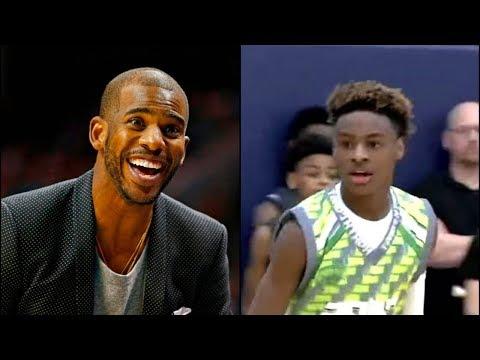 LeBron James Jr Leaves Chris Paul SPEECHLESS During AAU Game
