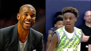 LeBron James Jr Leaves Chris Paul SPEECHLESS During AAU Game