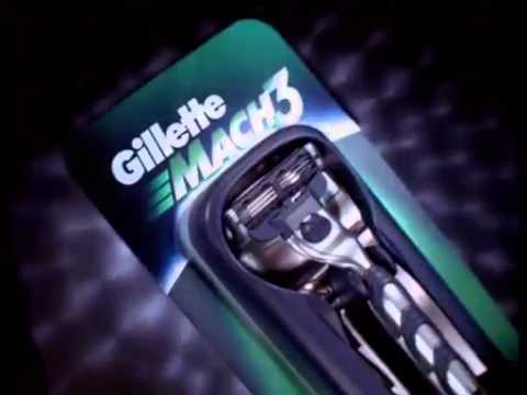 Gillette mach 3   Simple comme 123 + world cup tag   Publicité Ina fr
