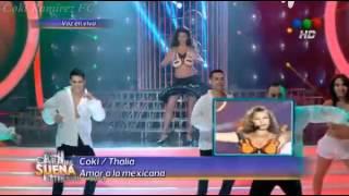 "Coki Ramirez fue Thalia en ""Tu cara me suena"" - Parte 1/2 - 28/05/14"