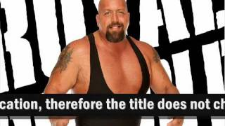 My WWE Royal Rumble (2012) Results (PLEASE READ DESCRIPTION!)