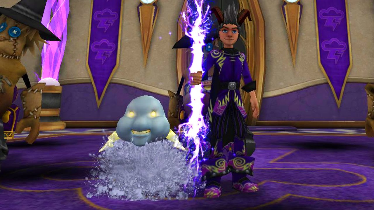 Wizard101: STORM LvL 118 PET QUEST! - RAIN CORE - YouTube