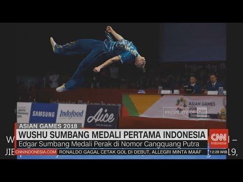 Wushu Sumbang Medali Pertama Indonesia #AsianGames2018