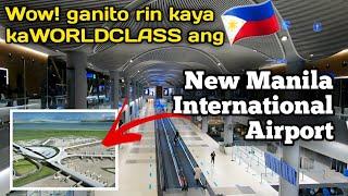 Ganito rin kaya kaganda at World Class ang New Manila International Airport (Istanbul Grand Airport)