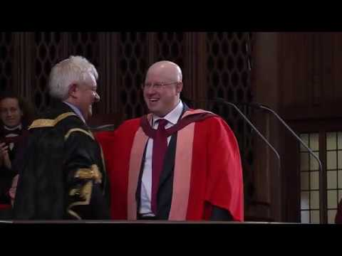 Matt Lucas - honorary degree