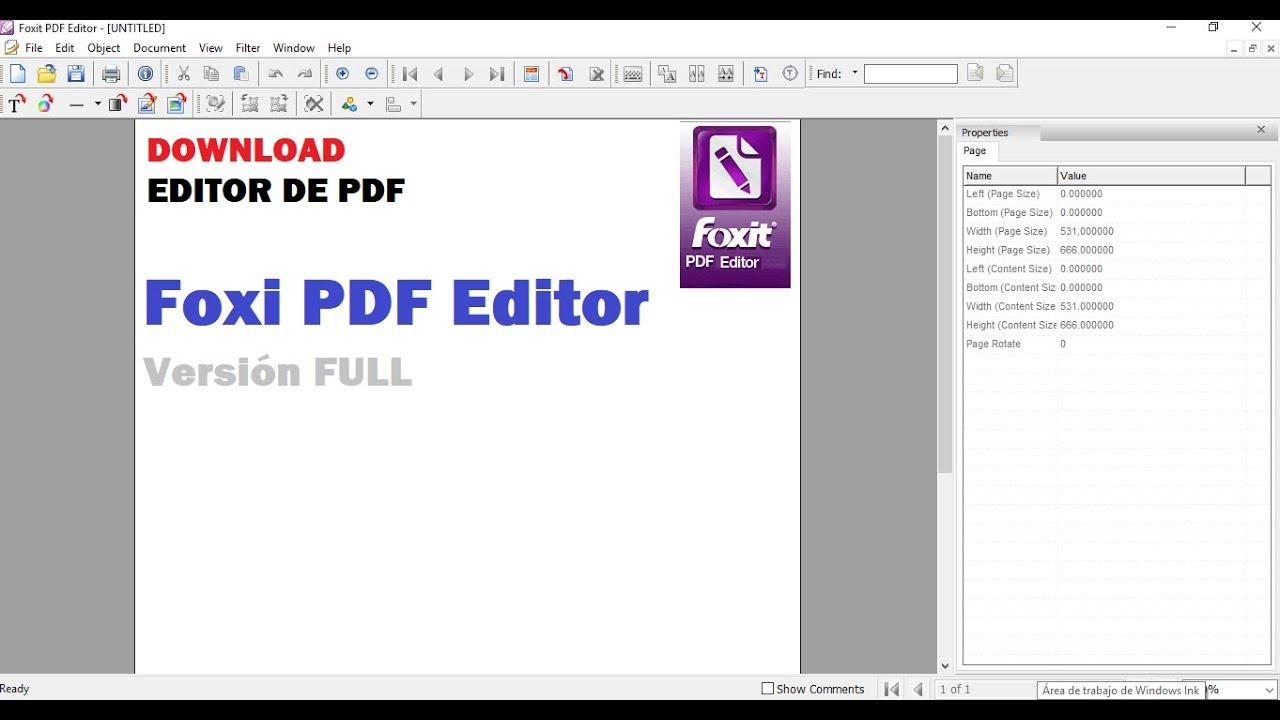 Como editar un PDF   2019