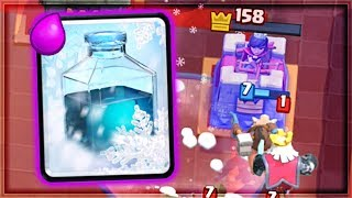 Clash Royale - HOG FREEZE IS BACK! Surprise Deck