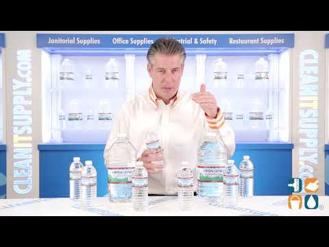 Crystal Geyser Water And CleanItsupply.com
