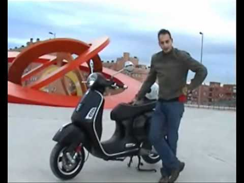 vespa gts 125 super sport youtube. Black Bedroom Furniture Sets. Home Design Ideas