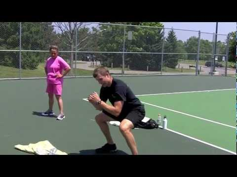 Back and Forth Tennis Court Workout