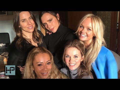 Spice Girls Reunion -- VICTORIA Actually Showed Up!!! They Tease More To Come Mp3