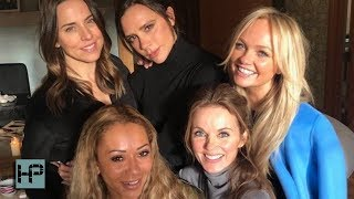 Spice Girls Reunion -- VICTORIA Actually Showed Up!!! They Tease More To Come