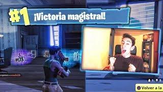 PRIMERA VICTORIA JUNTOS! MI HERMANO Y YO EN FORTNITE BATTLE ROYALE
