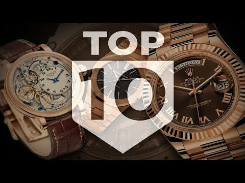 10 Most Expensive Luxury Watch Brands