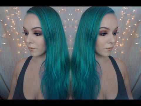Aquamarine Mermaid Hair