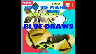 # HOW TO MAKE JAMAICAN BLUE DRAWS.. Aka Dukuno