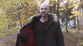 обзор мужской зимней куртки M37