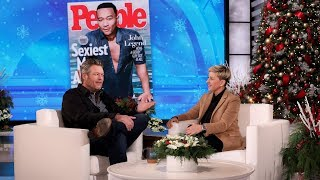 Blake Shelton Thinks John Legend Was the Wrong Choice for 'Sexiest Man Alive'