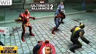 Marvel Ultimate Alliance 2 - Wii Gameplay 1080p (Dolphin GC/Wii Emulator)
