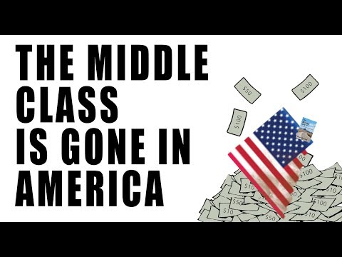 78% of Workers Live Paycheck to Paycheck! Say Goodbye to MIDDLE CLASS America!