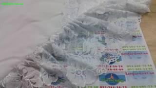Конверт на выписку нарядный летний 1010 белый