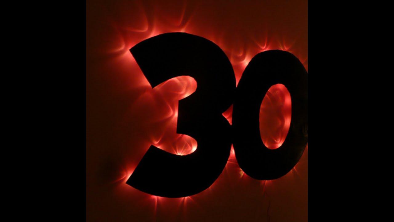 Картинка с цифрой 30 лет, картинки
