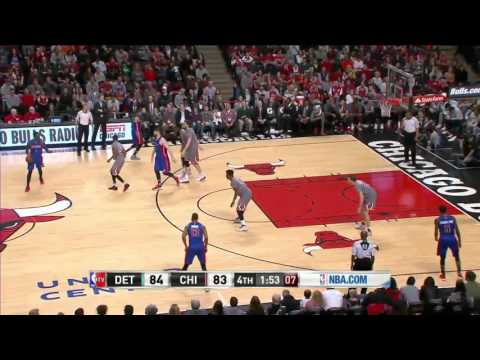 Detroit Pistons vs Chicago Bulls | April 2, 2016 | NBA 2015-16 Season