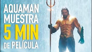 5 minutos de Aquaman l Lo que no viste