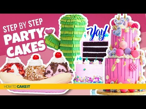 4 Perfect PARTY CAKES! | Compilation | How To Cake It