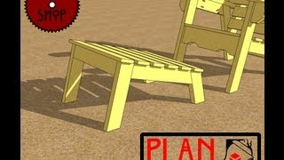 Chief's Shop Plan Of The Week: Florida Chair Footrest