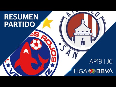 Resumen y Goles | Veracruz vs Atlético San Luis | Liga BBVA MX - Apertura 2019  - Jornada 6