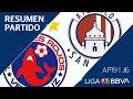 Resumen Y Goles   Veracruz Vs Atlético San Luis   Liga BBVA MX - Apertura 2019  - Jornada 6