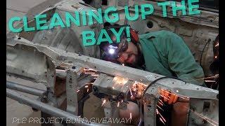 Pt.2 | Project Build Giveaway | 2JZ Swap Nissan 240sx | Engine Bay primer!