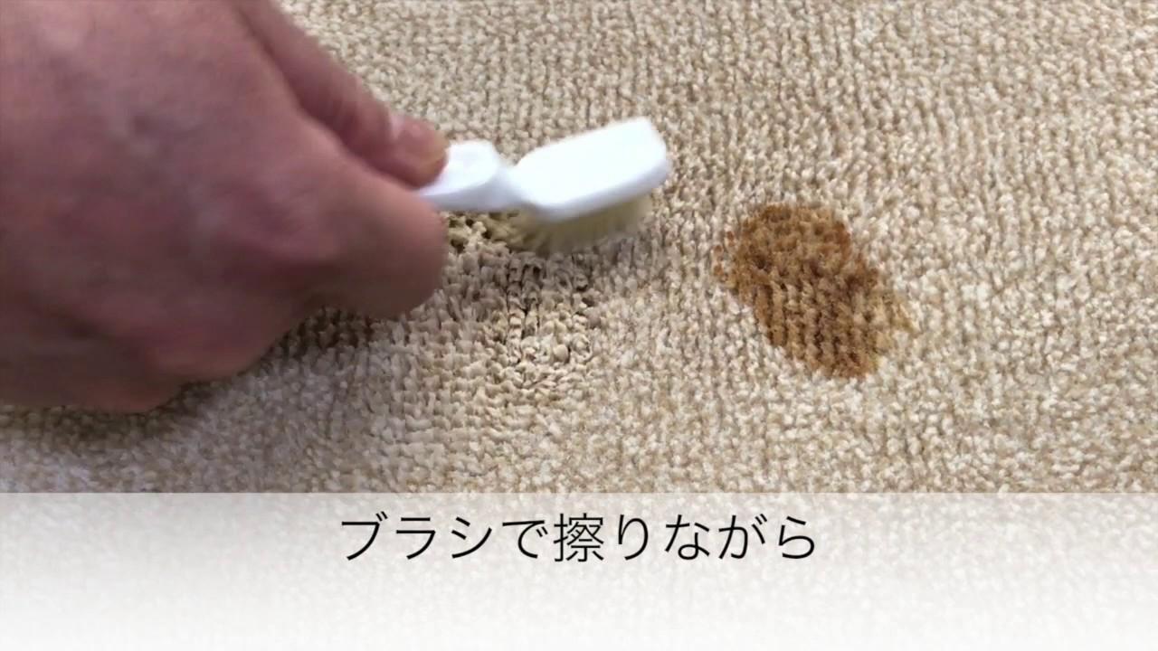 絨毯 シミ 取り