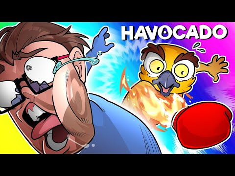 Havocado Funny Moments - Gang Beasts and Stick Fight Had a Baby!