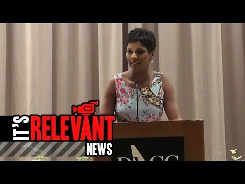 Tamron Hall shares intense personal story with Voices of Courage ...