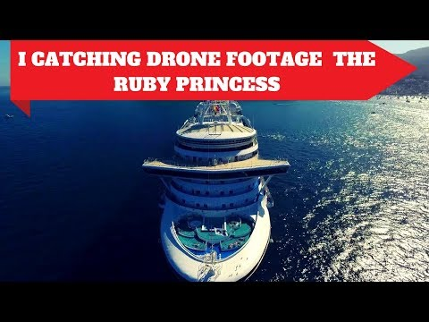 Drone Pilot Cinemaphotographer in Los Angeles - Catalina and The Ruby Princess